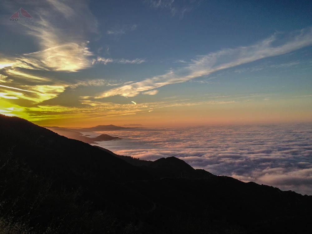 Why I start hiking in the dark, on the way to Montecito Peak
