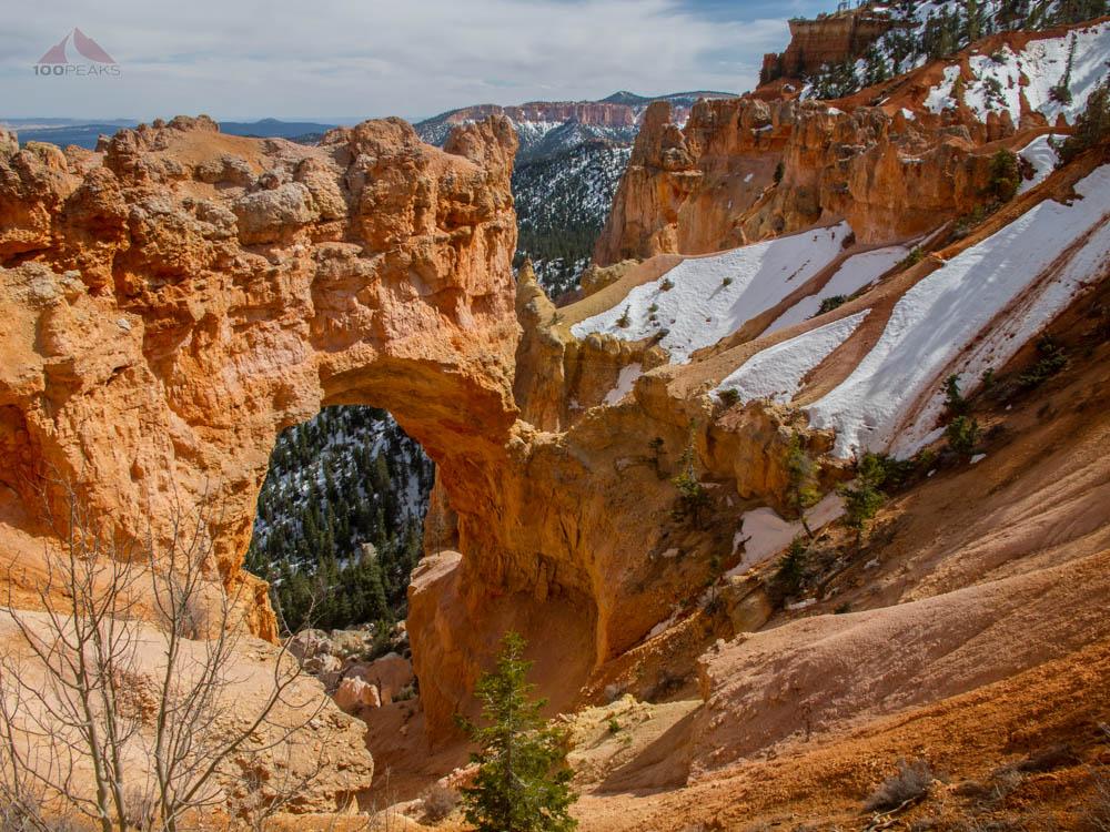 Natural Bridge at Bryce Canyon National Park