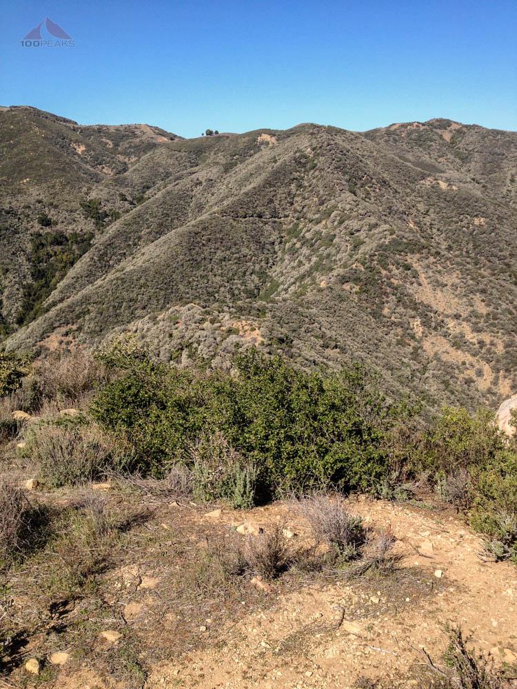 The way back up to Camino Cielo