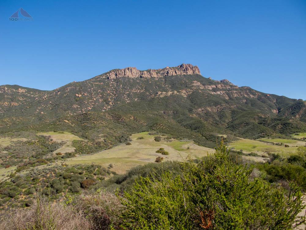 Boney Mountain from the Serrano Valley Trail Head