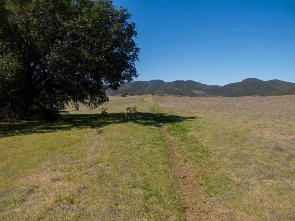 Serrano Valley Trail, heading towards ranch ruins