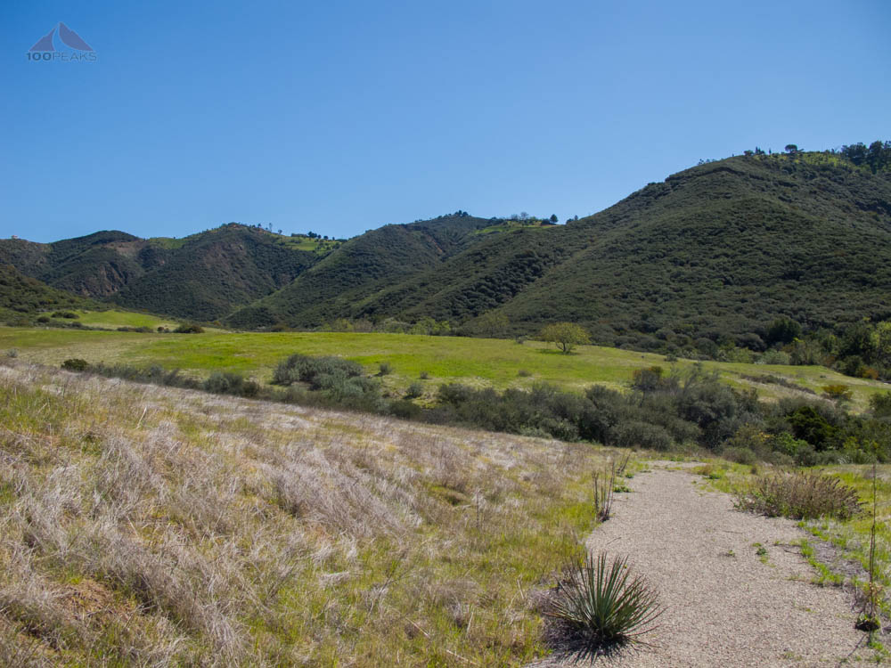 The eastern end of Serrano Valley
