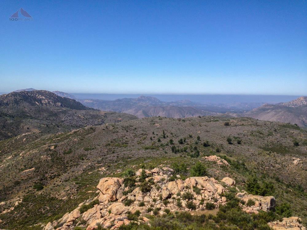 Eagle Peak from Sunshine Mountain