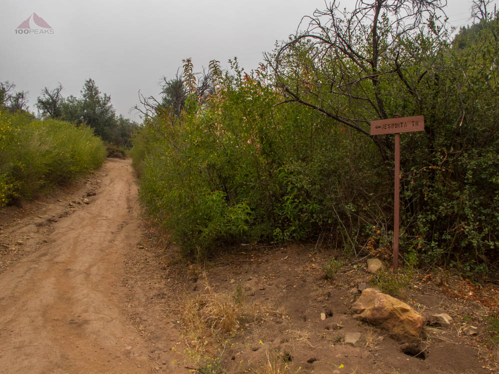 Jesusita Trail Sign