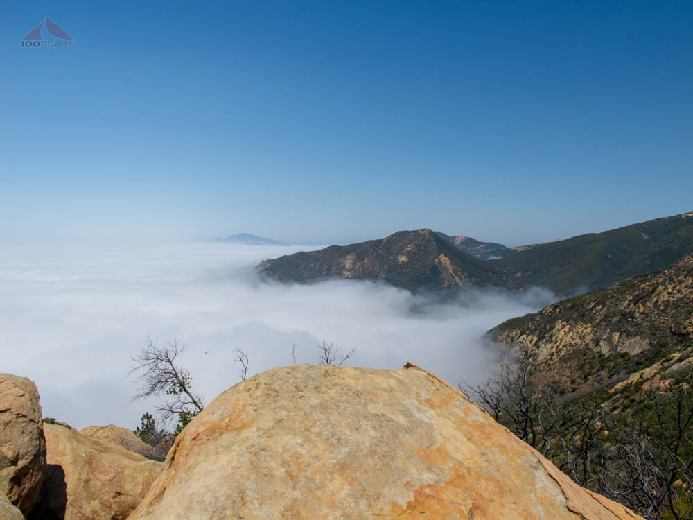 Looking west from Arlington Peak