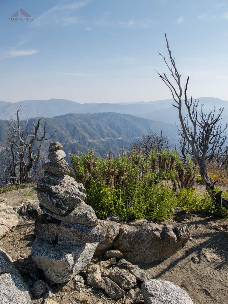 Summit Cairn on San Gabriel Peak
