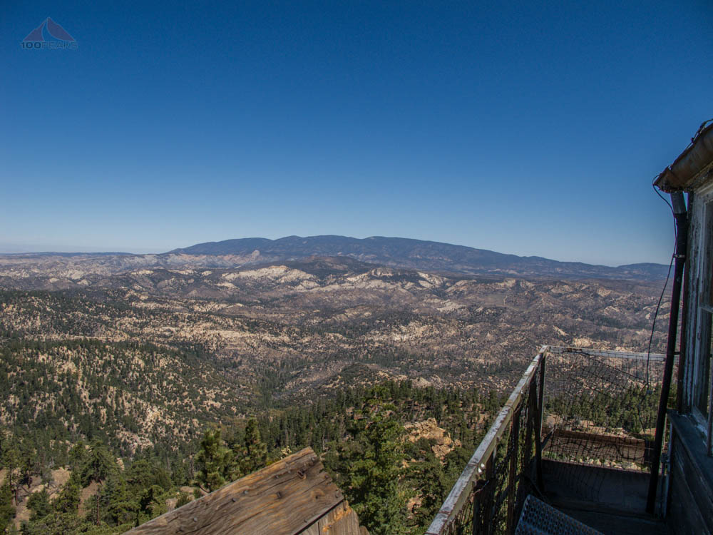 Mount Pinos and beyond from Thorn Point