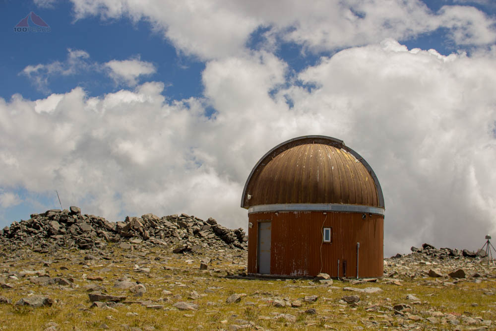 The Barcroft Observatory Dome on the way to White Mountain Peak