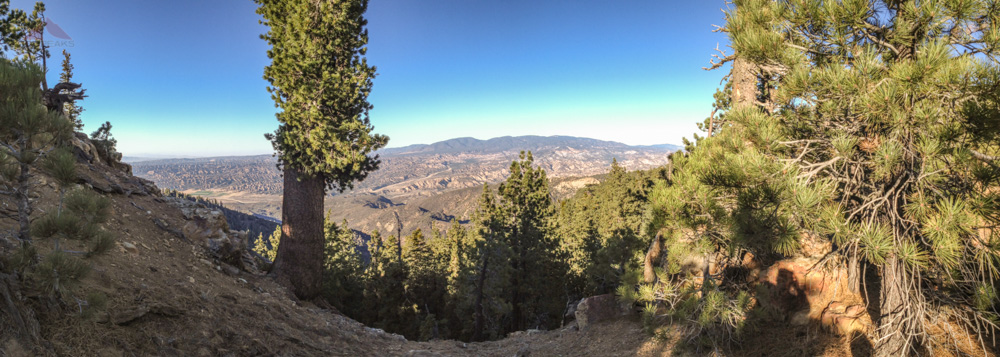 iPhone Pano from the trail
