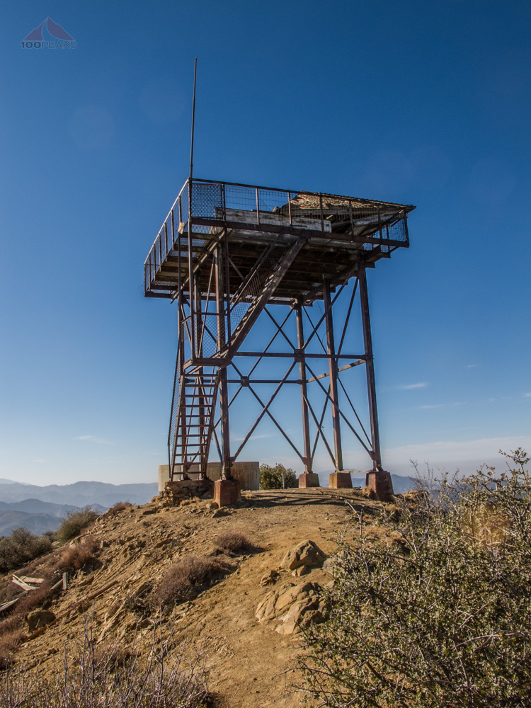 The Cuyama Peak Lookout Tower