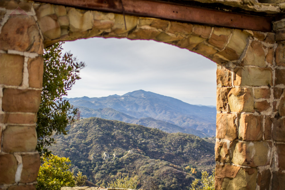 Santa Ynez Peak from Knapp's Castle