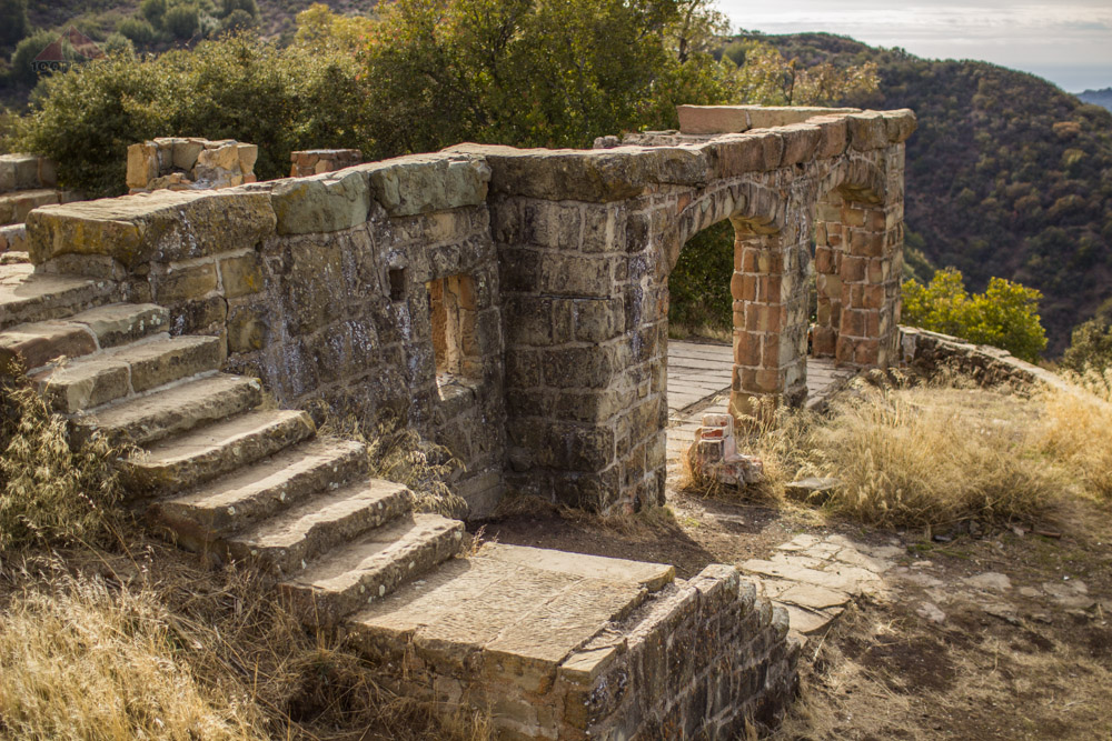 The ruins of Knapp's Castle