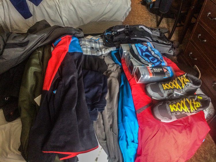 A Mountain of Columbia Gear
