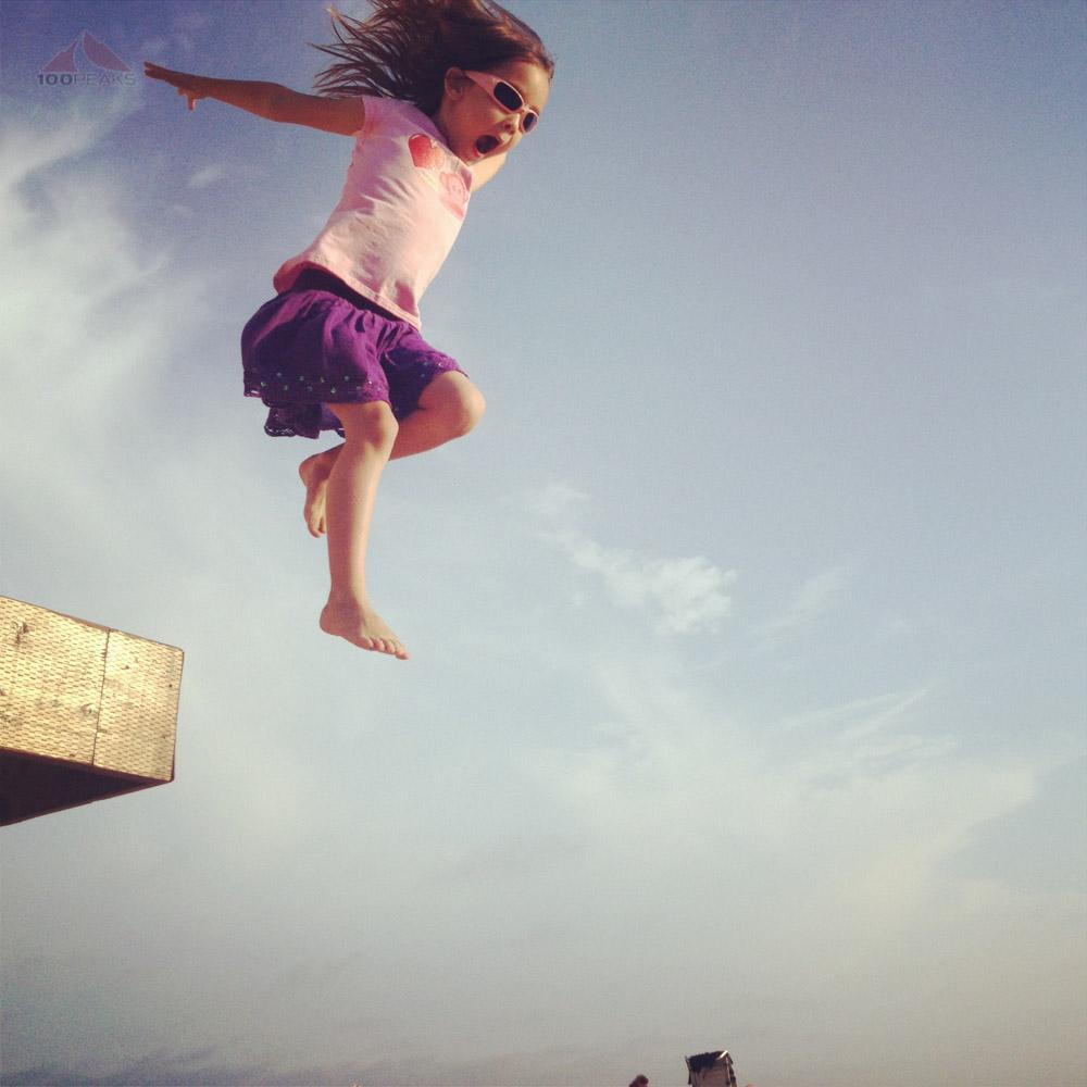 Sophia in flight