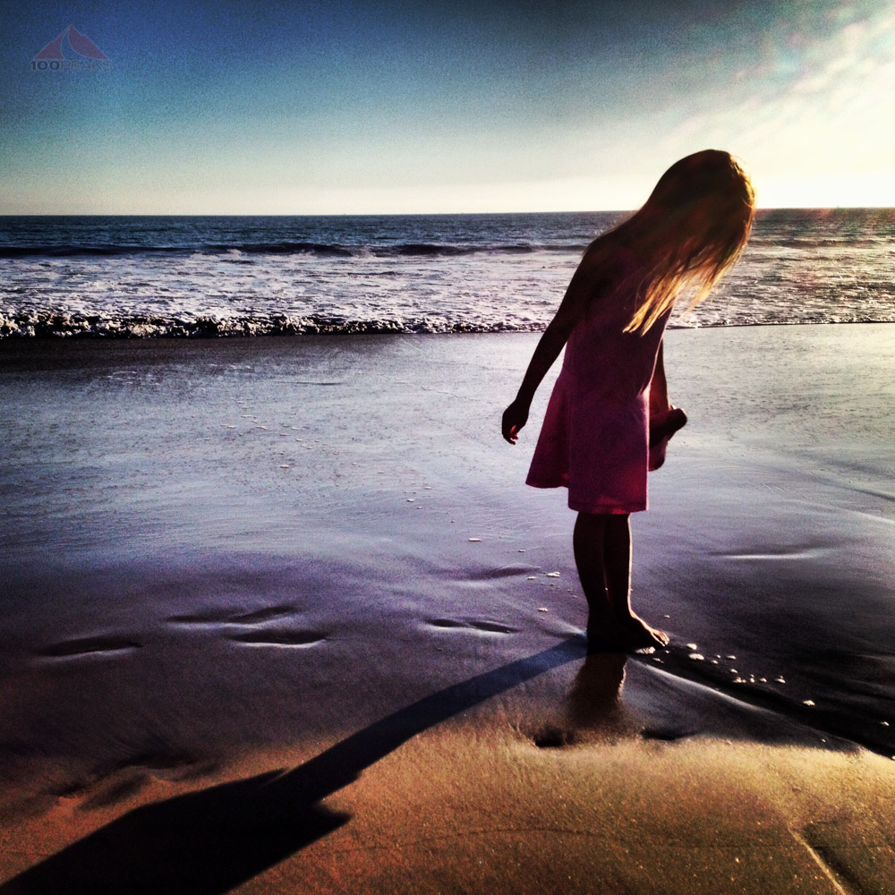 Soph, at Coronado Beach in San Diego