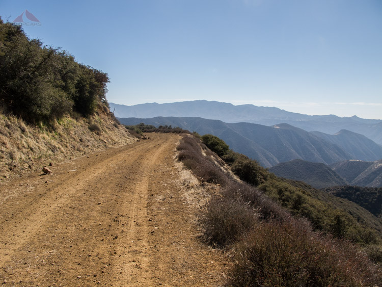Sierra Madre Road with endless views