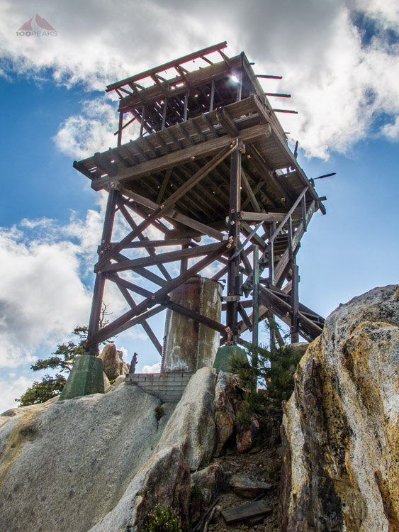 Hot Springs Mountain Lookout Tower