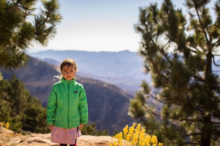 My backpacking partner on Reyes Peak