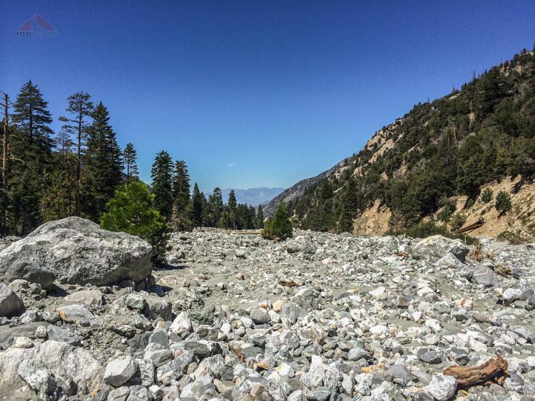 A very dry Mill Creek