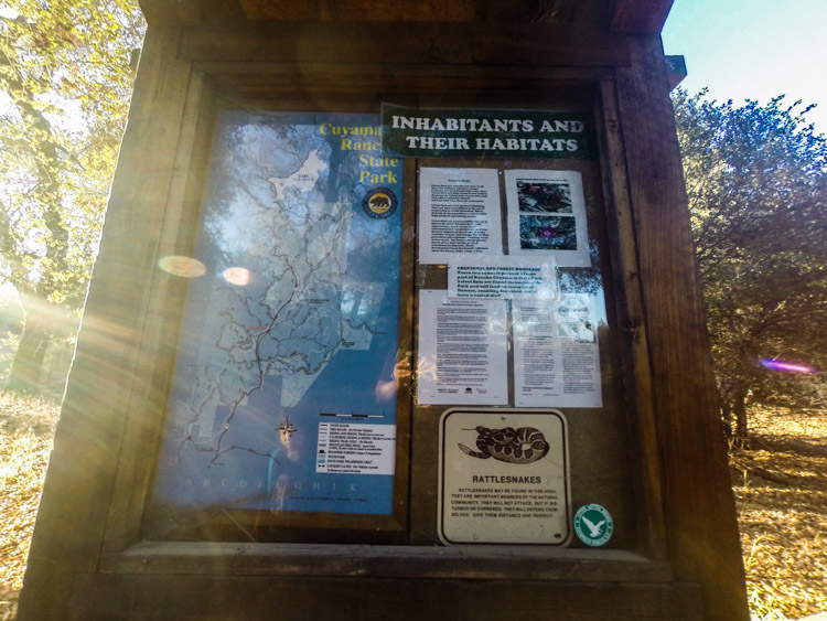 Arroyo Seco Trailhead sign