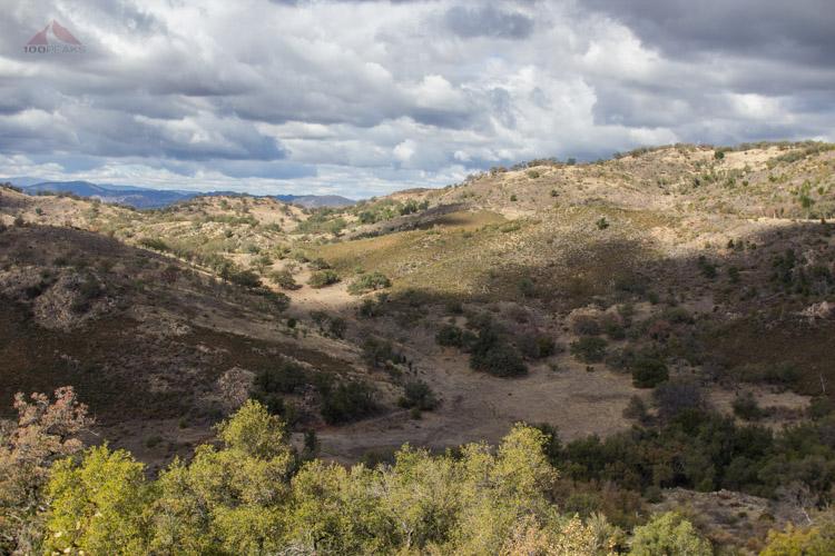 Deadman Flat from the trail