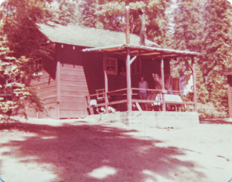 Where we stayed in 1978 - Grant Grove Camp Cabins