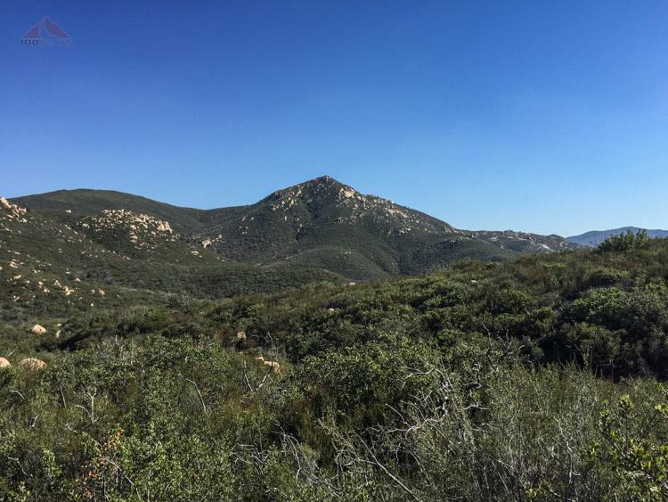 Oakzanita Peak from the Trail