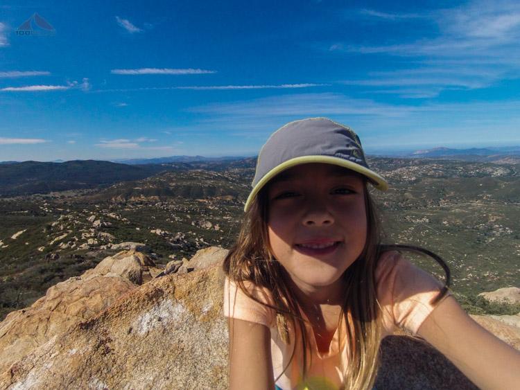 Soph at Oakzanita Peak
