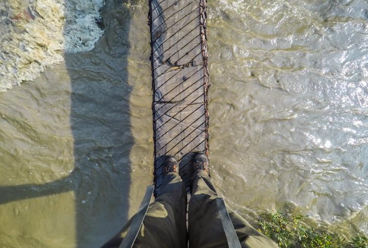 Crossing Helmet Creek