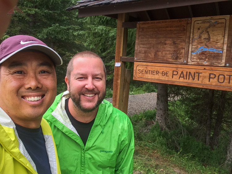 Ready at the Paint Pot trailhead