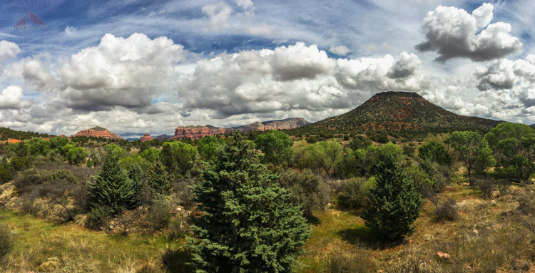 Sedona from The Red Rock Visitor Center