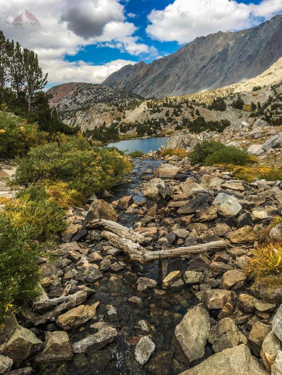 Timberline Tarns inlet stream