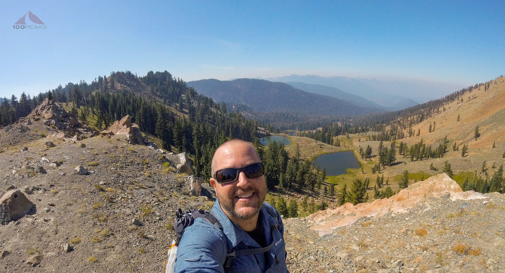 On the PCT in the Trinity Alps Wilderness