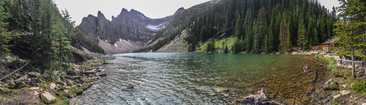 Lake Agnes and its Tea House