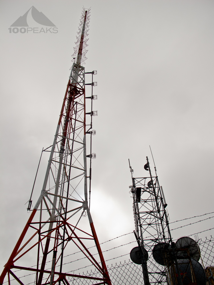 Broadcast Peak Masts