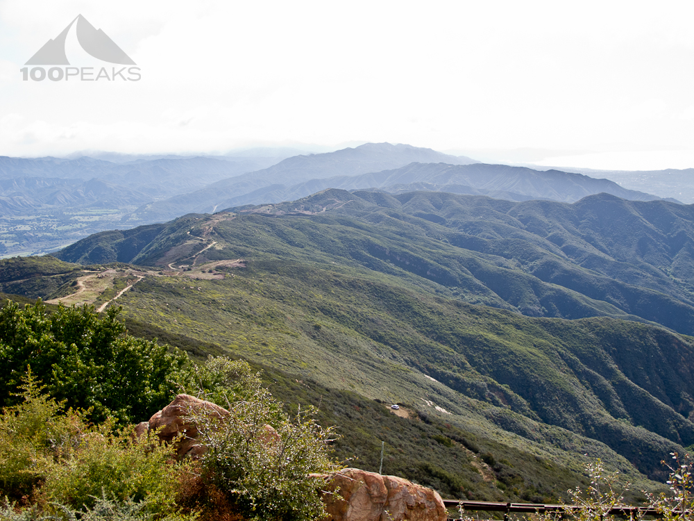 West Camino Cielo back to San Marcos Pass