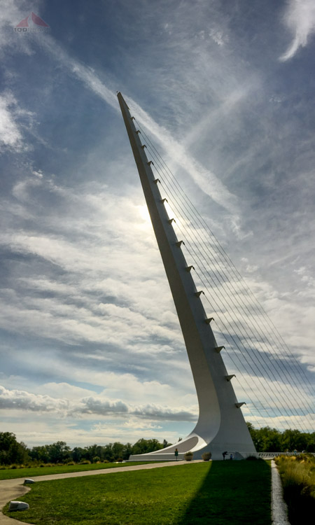 The Sundial Bridge in Redding