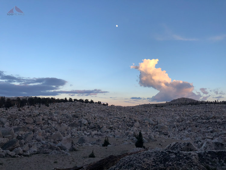 Moon and Clouds on the Cottonwood Lakes Trail.jpg