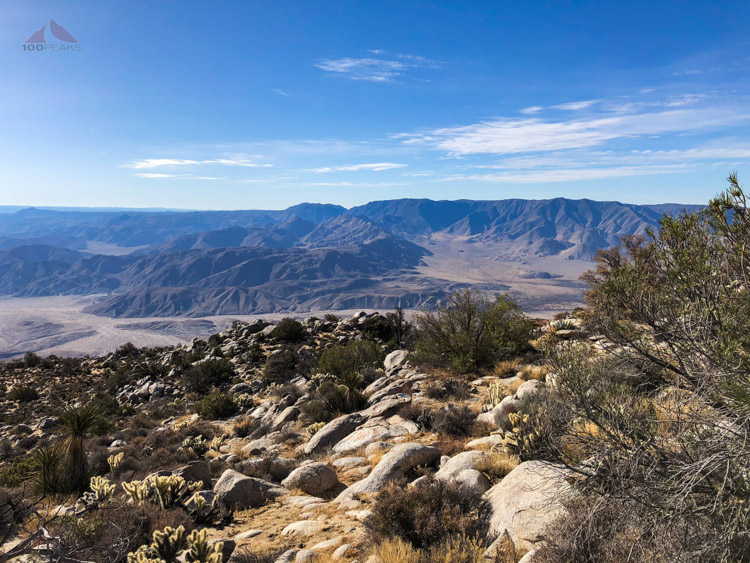 The view toward the Lagunas, The Potrero, Sawtooth Mountains, and Inner Pasture from Whale Peak.jpg