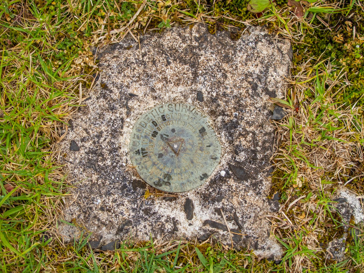 Mount Ka'ala benchmark