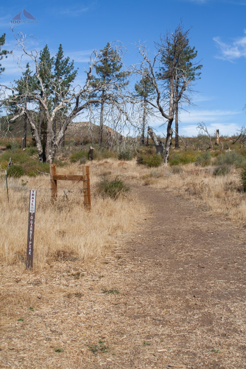 Garnet Peak Trailhead