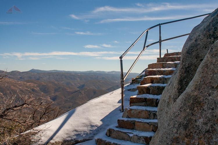 Stairway to Stonewall Peak