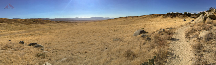 Open grasslands on the way to Eagle Rock