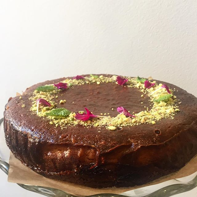 Taking orders for Rose's Persian Love Cake for Valentines...or anytime 🌸💖✨ #valentines #freshlybaked #mallalieu