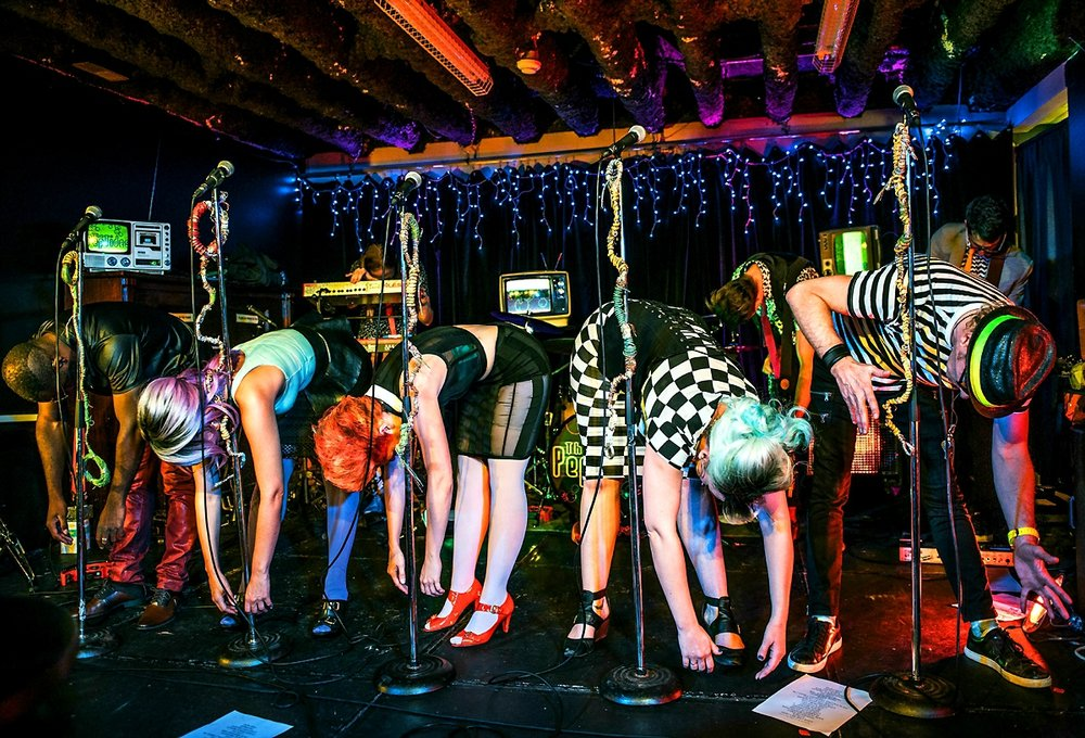 The PepTides - 2016-12-10 - LIVE on Elgin - Credit Helen Kriemadis