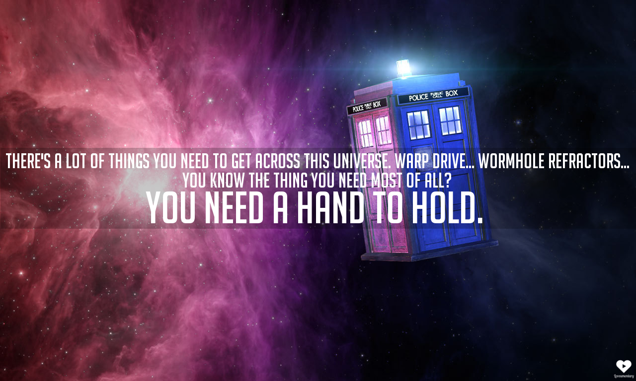 You Need A Hand To Hold, Doctor Who | The Loveumentary