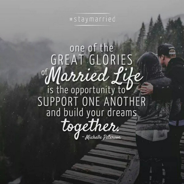 Support one another and build your dreams together | #StayMarried | The Loveumentary