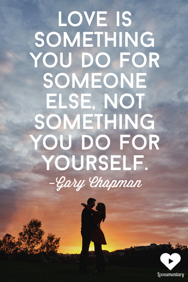 love is something you do for someone else | Gary Chapman | The Loveumentary