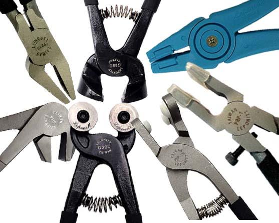 Grozers, Running Pliers, Breakers, Mosaic Cutters