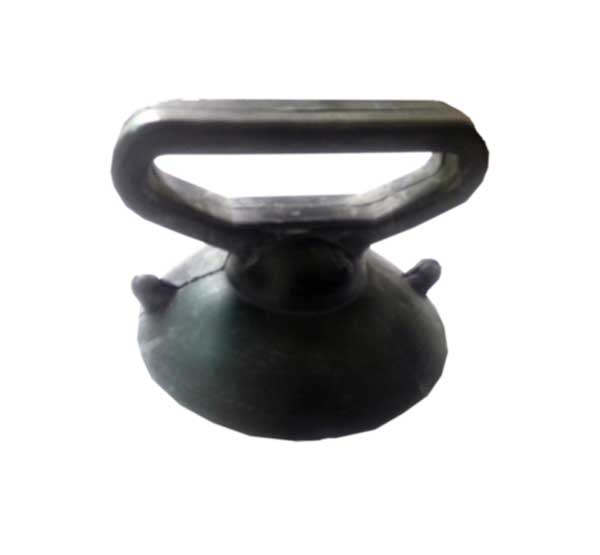 GS105 LeponittAll Rubber Suction Lifter   Lifting Capac.: 30KGS; Cup Dia: 100mmφ All rubber made/ Ideal for manoeuvring glass on cutting table and difficult glazing locations.